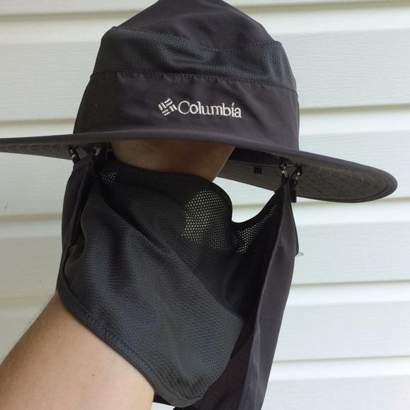 Columbia fishing bucket hat w strap. M 5b33fabcd6dc52e2281d0a4d df92855ff2d